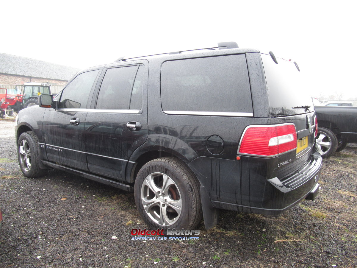 2007 LINCOLN NAVIGATOR 5.4 LITRE AUTO 4X4 WITH LPG SOLD (picture 3 of 6)