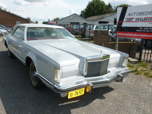 LINCOLN CONTINENTAL, 1978 For Sale by Auction