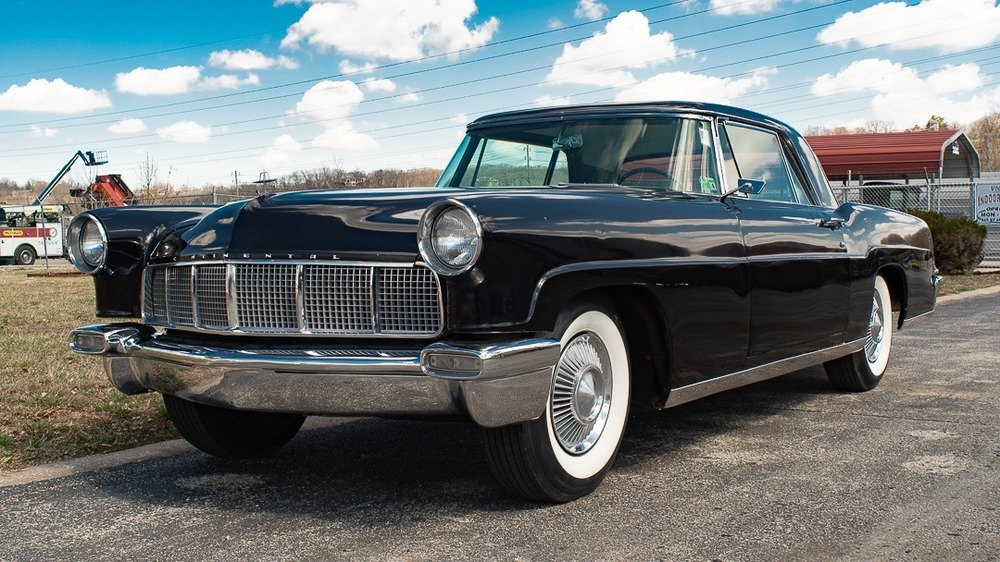 1956 Continental Mark II = Black Project Needs TLC $31.9k For Sale (picture 1 of 6)