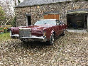 1970 Lincoln Continental Mk III Coupe