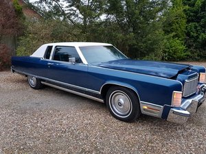 1975 lincoln continental coupe For Sale