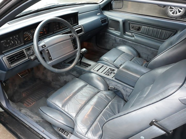 1992 Lincoln LSC 5.0V8 High Output 37K Miles! For Sale (picture 3 of 6)