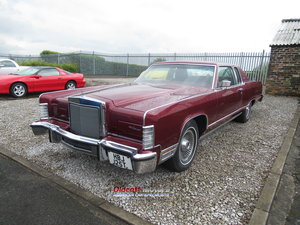 1979 Lincoln Town car only 7,000 miles
