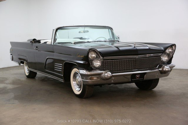 1960 Lincoln Continental Convertible For Sale (picture 1 of 6)
