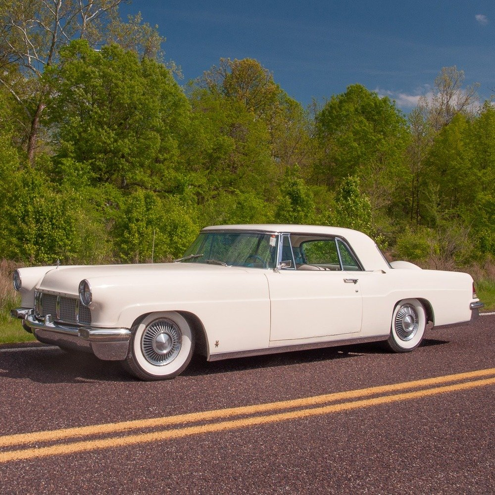1956 Lincoln Continental Mark II = clean Ivory driver $obo For Sale (picture 2 of 5)
