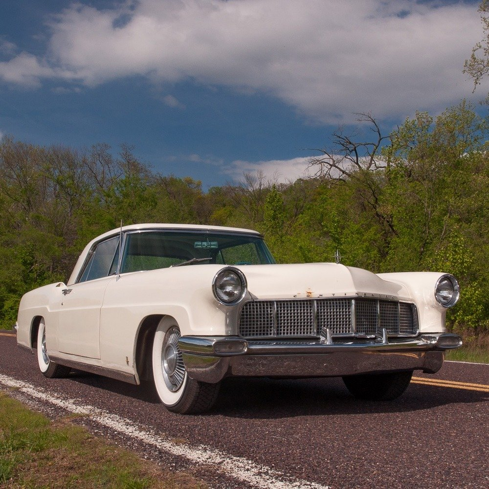 1956 Lincoln Continental Mark II = clean Ivory driver $obo For Sale (picture 4 of 5)