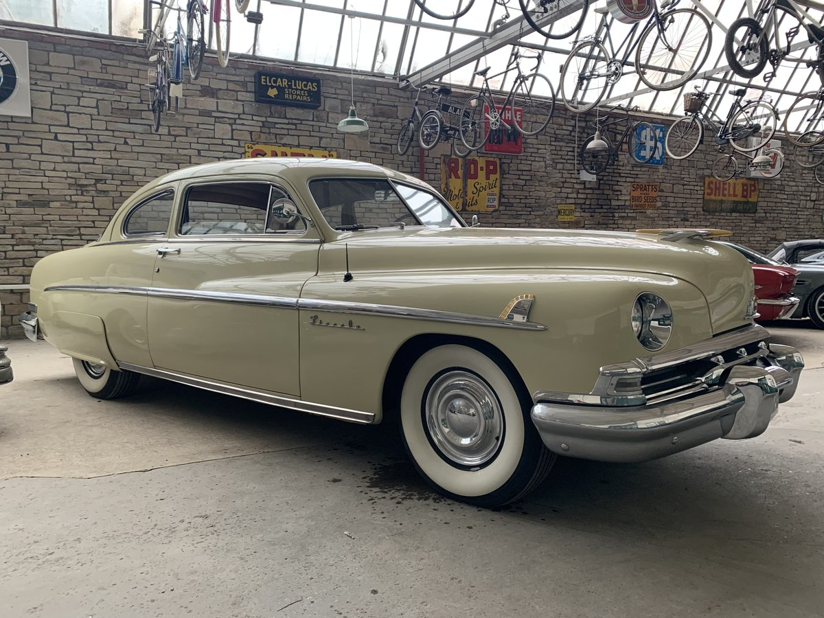 1951 Lincoln V8 Auto Sports Coupe For Sale (picture 1 of 6)