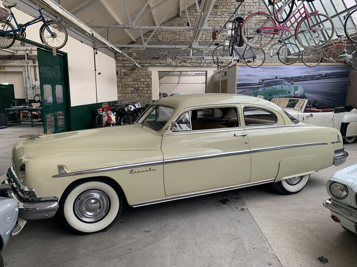 1951 Lincoln V8 Auto Sports Coupe For Sale (picture 2 of 6)