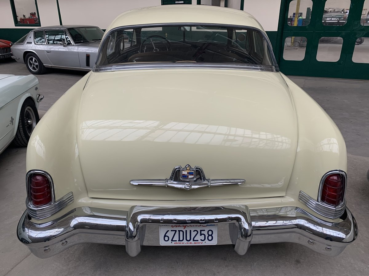 1951 Lincoln V8 Auto Sports Coupe For Sale (picture 4 of 6)