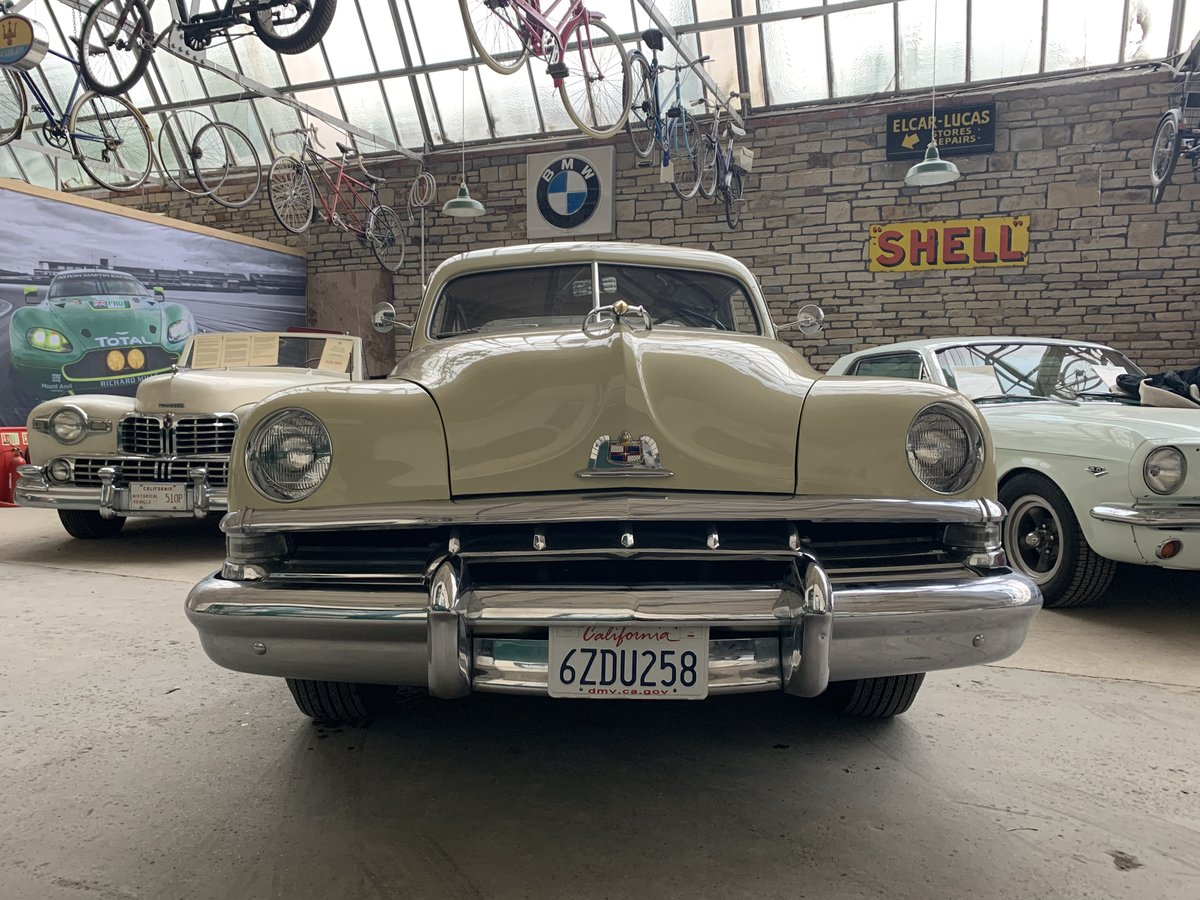 1951 Lincoln V8 Auto Sports Coupe For Sale (picture 5 of 6)