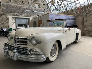1948 Lincoln V12 Contiental Convertible For Sale