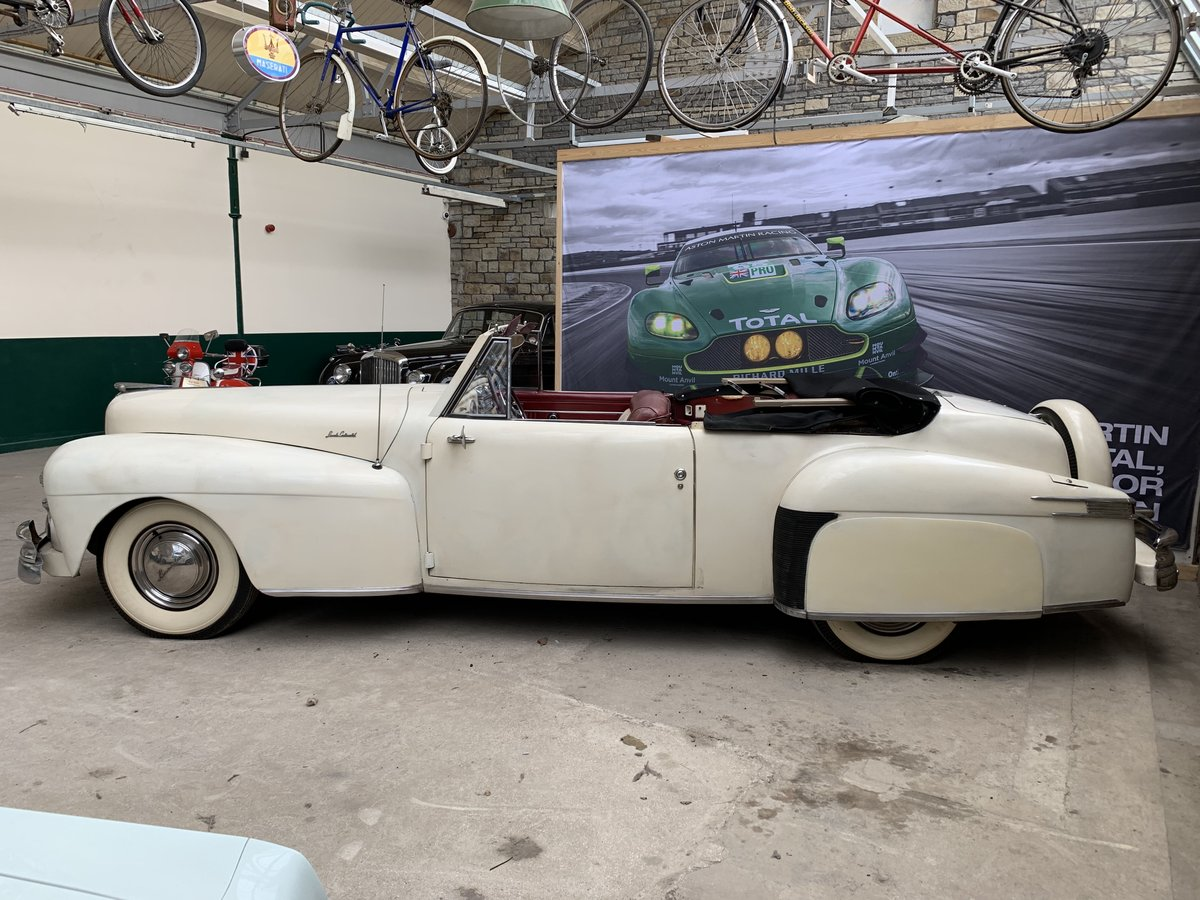 1948 Lincoln V12 Contiental Convertible For Sale (picture 2 of 6)