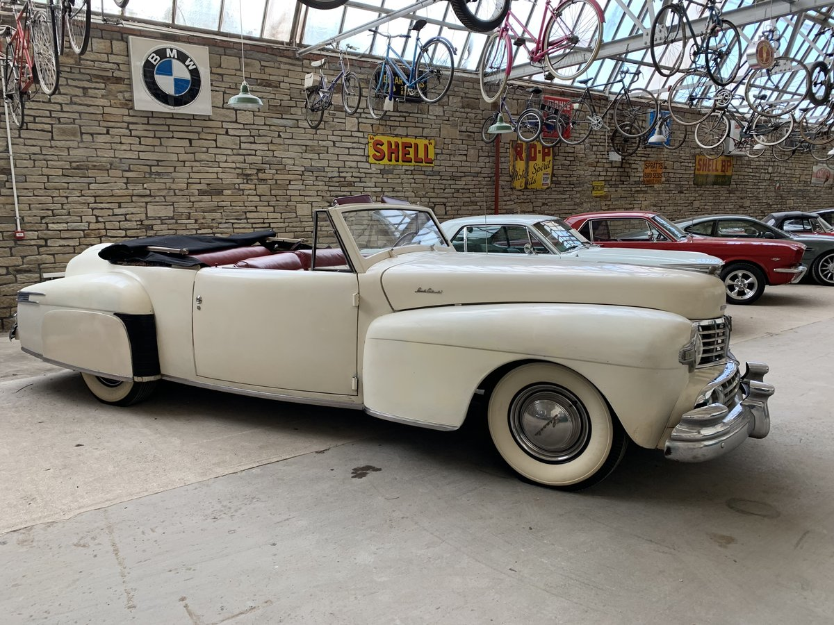 1948 Lincoln V12 Contiental Convertible For Sale (picture 3 of 6)