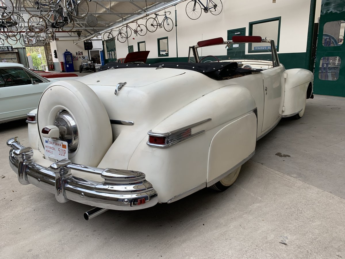 1948 Lincoln V12 Contiental Convertible For Sale (picture 4 of 6)