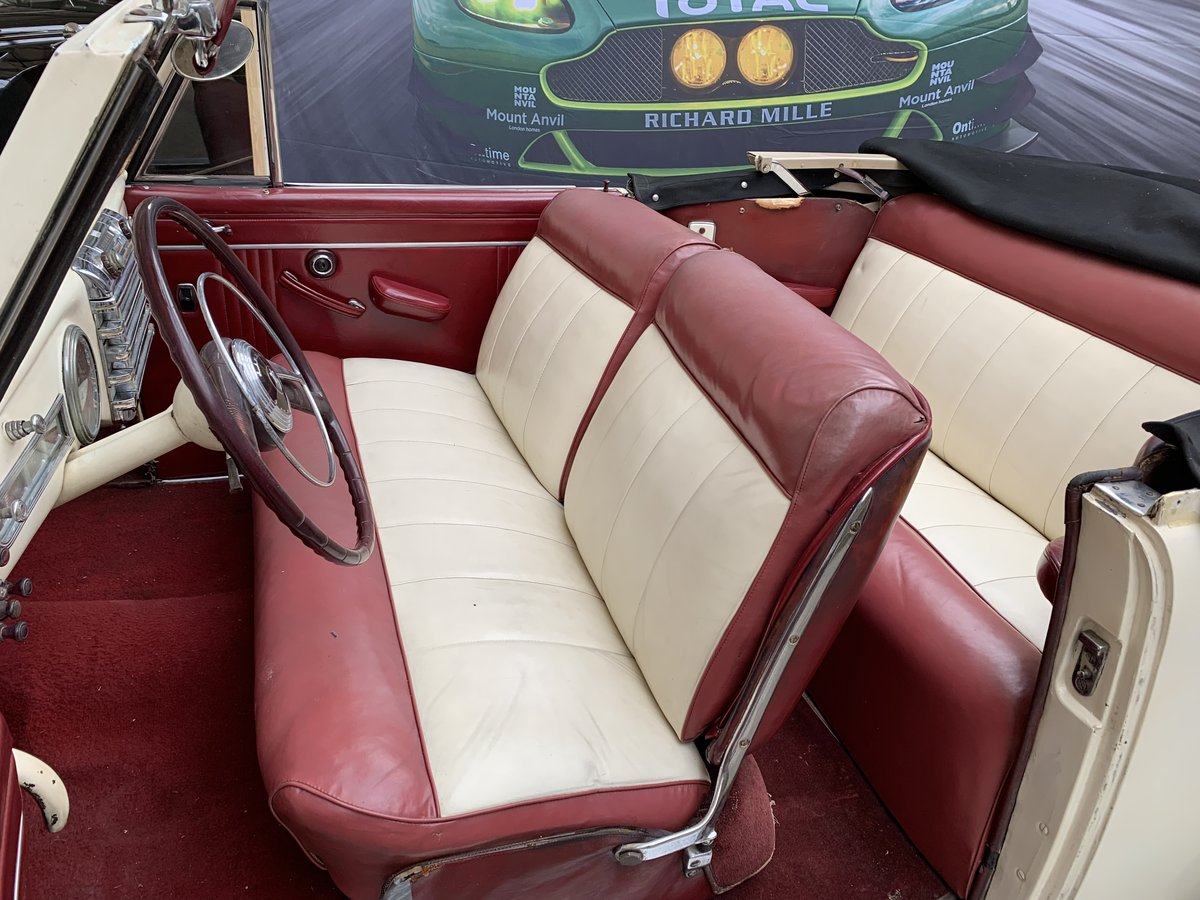 1948 Lincoln V12 Contiental Convertible For Sale (picture 5 of 6)