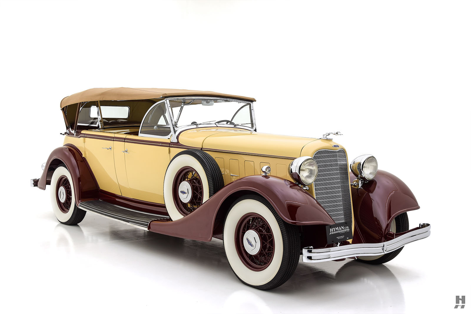1934 LINCOLN KB SPORT PHAETON For Sale (picture 2 of 6)
