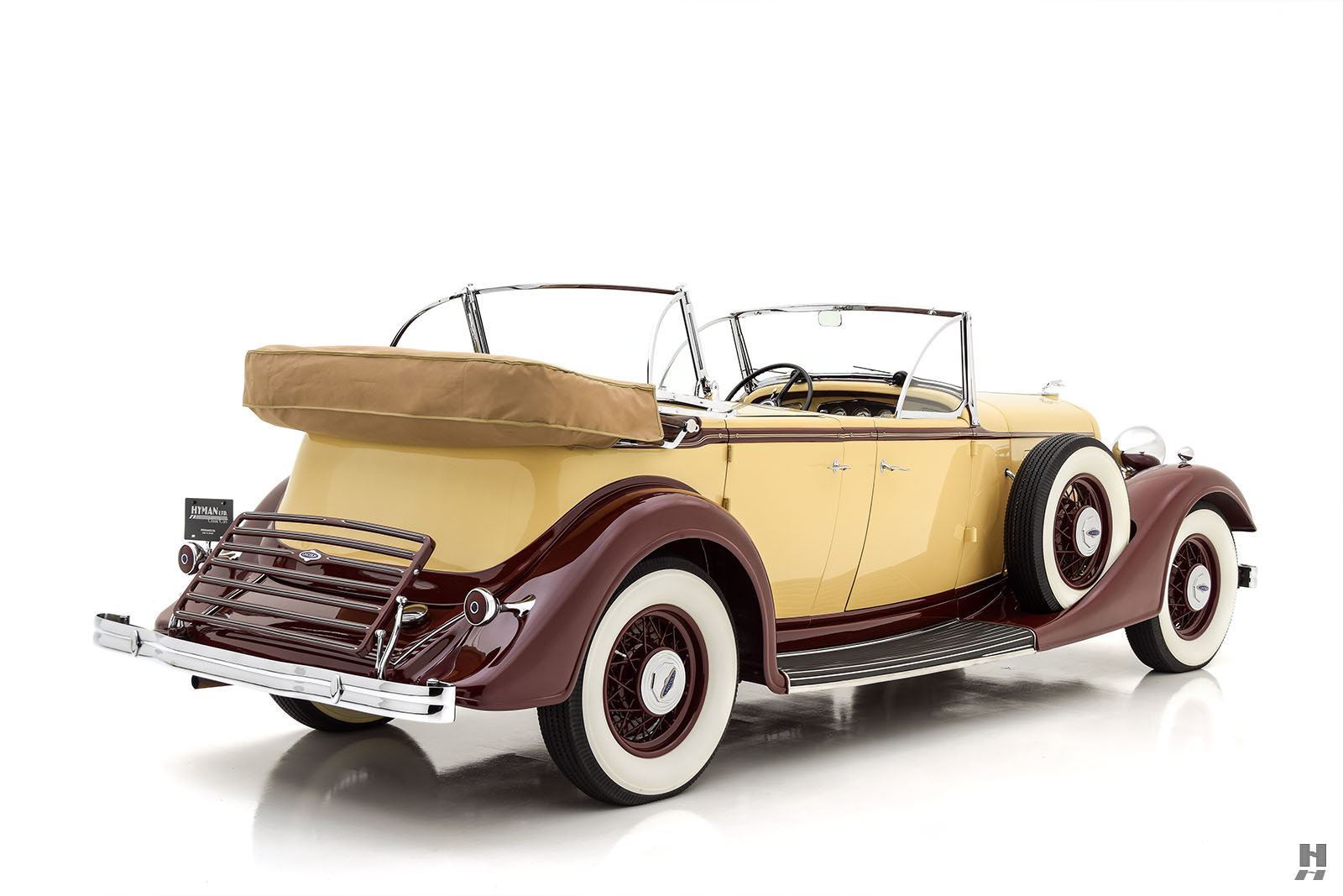 1934 LINCOLN KB SPORT PHAETON For Sale (picture 5 of 6)