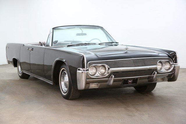 1961 Lincoln Continental Convertible For Sale (picture 1 of 6)