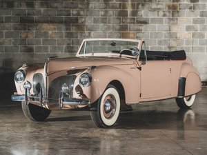 1941 Lot 126- Lincoln Continental Cabriolet