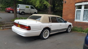 1993 Lincoln continental M3 plate