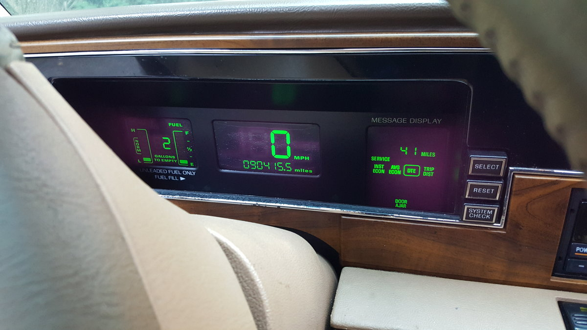 1993 Lincoln continental M3 plate For Sale (picture 4 of 6)