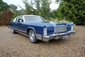 1975 Lincoln Continental Coupe For Sale by Auction