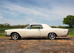 1969 Lincoln Continental Kennedy Coup (Fourth Generation)