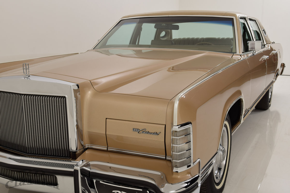 1979 Lincoln Continental 4D Town Sedan For Sale (picture 1 of 6)
