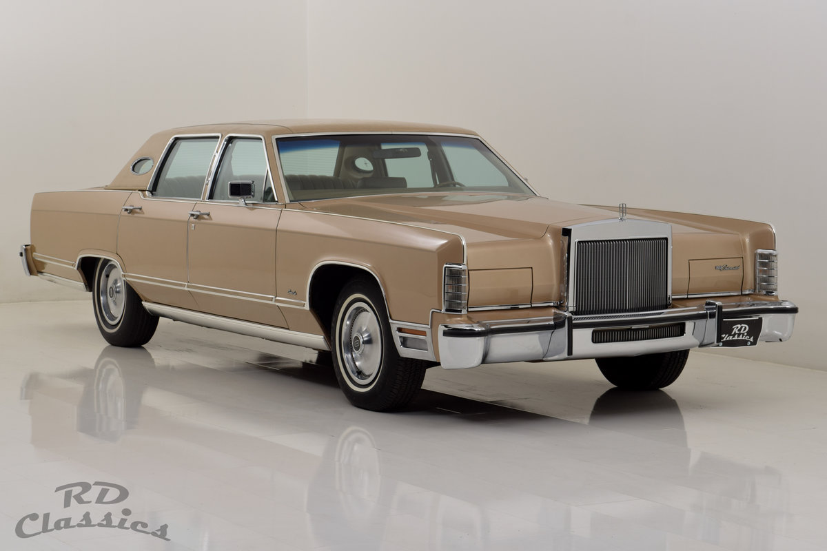 1979 Lincoln Continental 4D Town Sedan For Sale (picture 2 of 6)