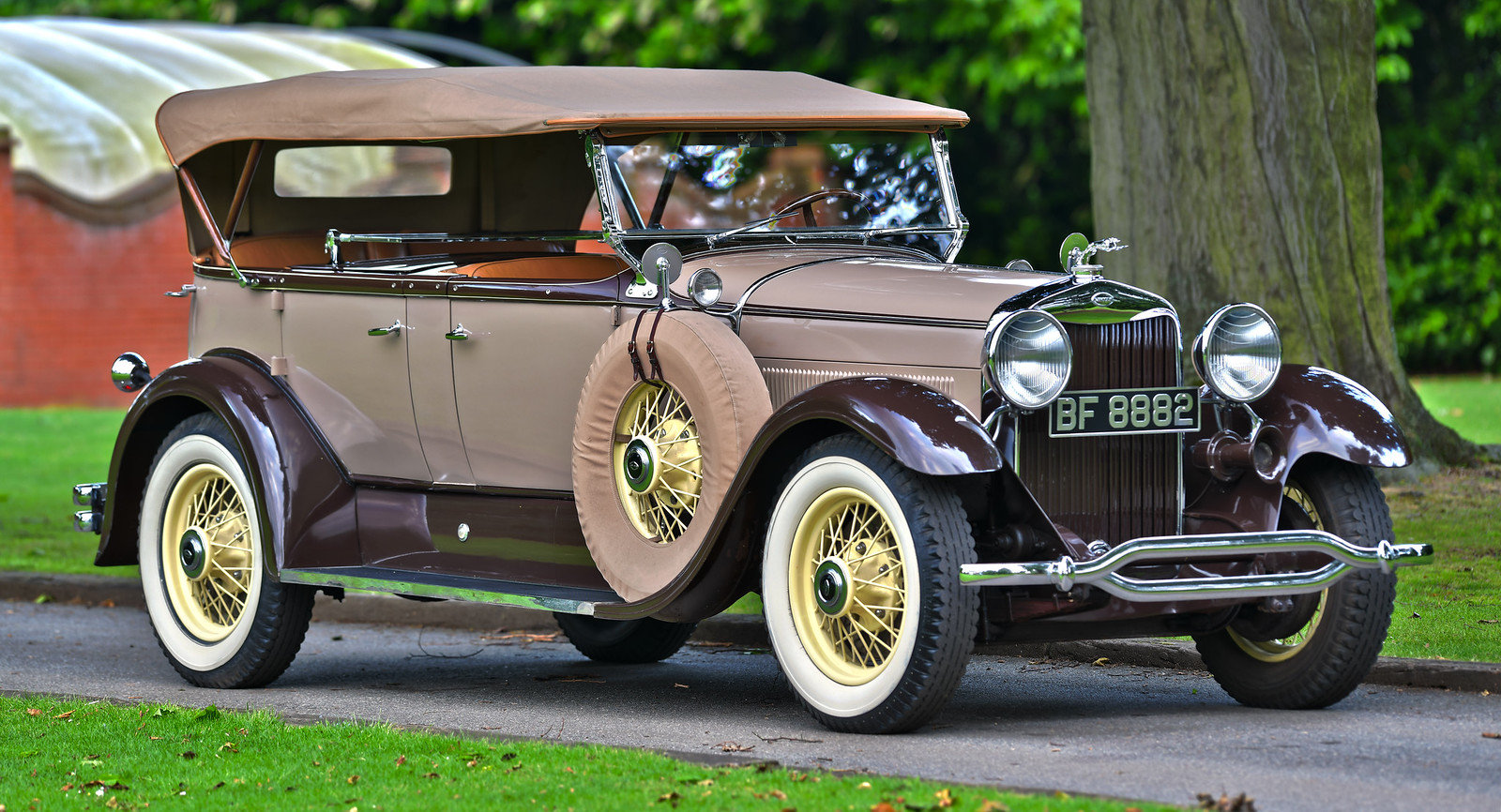 1930 Lincoln Model L Type 176b Dual Cowl Sports Phaeton For Sale (picture 1 of 6)