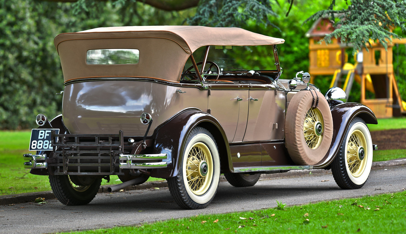 1930 Lincoln Model L Type 176b Dual Cowl Sports Phaeton For Sale (picture 3 of 6)