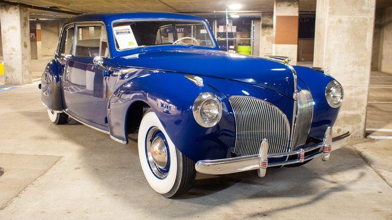 1941 Lincoln Continental HardTop = Rare 1 of 850 made $49.9k For Sale (picture 4 of 6)