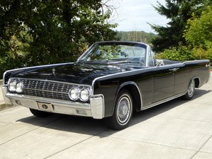 1962 Lincoln Continental Convertible Suicide Doors Black $44 For Sale
