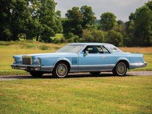 1978 Lincoln Continental Mark V  For Sale by Auction