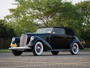 1937 Lincoln Model K Victoria by Brunn For Sale by Auction
