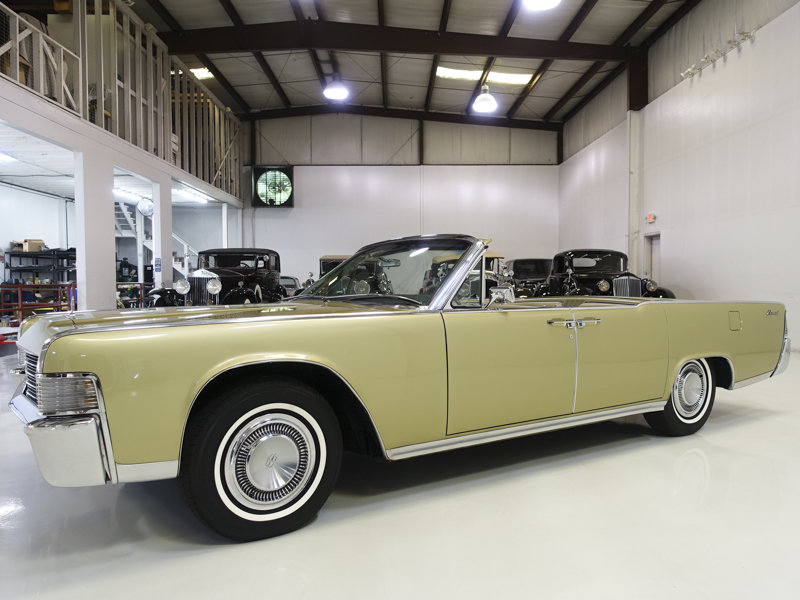 1965 Lincoln Continental Convertible For Sale (picture 1 of 6)