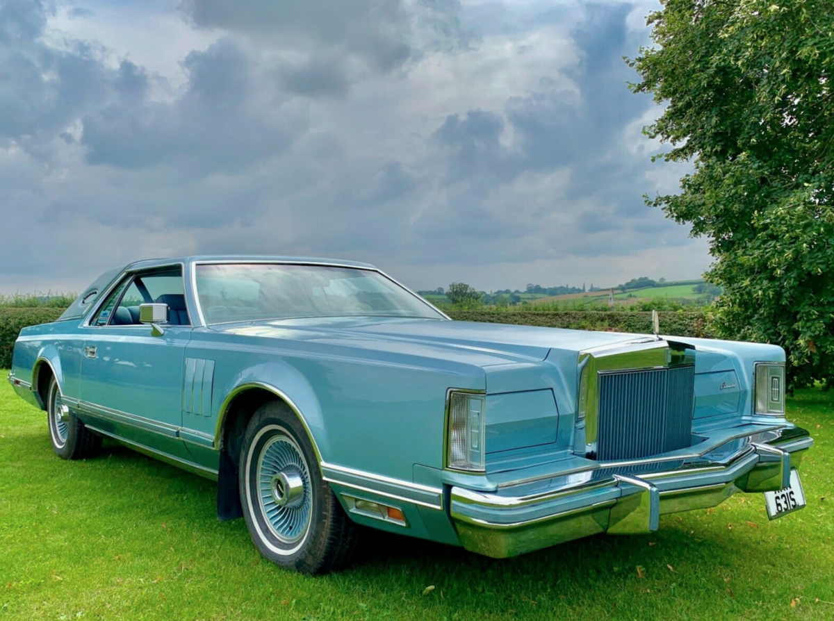 1978 Lincoln Continental MK V Diamond Jubilee 7.5L V8 For Sale (picture 1 of 6)