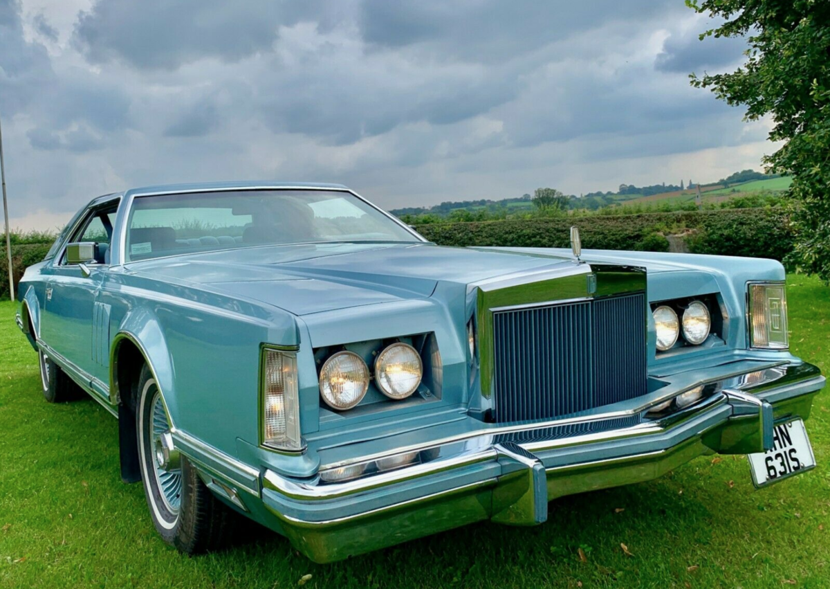 1978 Lincoln Continental MK V Diamond Jubilee 7.5L V8 For Sale (picture 2 of 6)