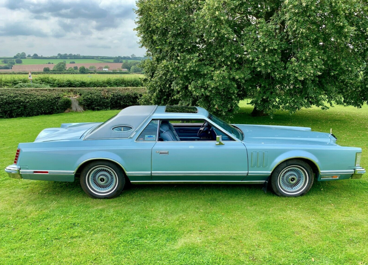 1978 Lincoln Continental MK V Diamond Jubilee 7.5L V8 For Sale (picture 4 of 6)