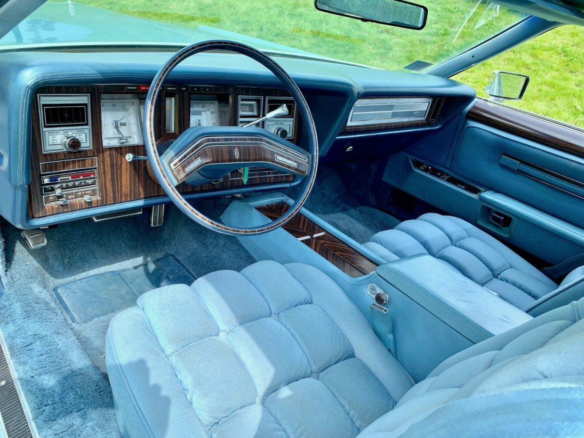 1978 Lincoln Continental MK V Diamond Jubilee 7.5L V8 For Sale (picture 5 of 6)