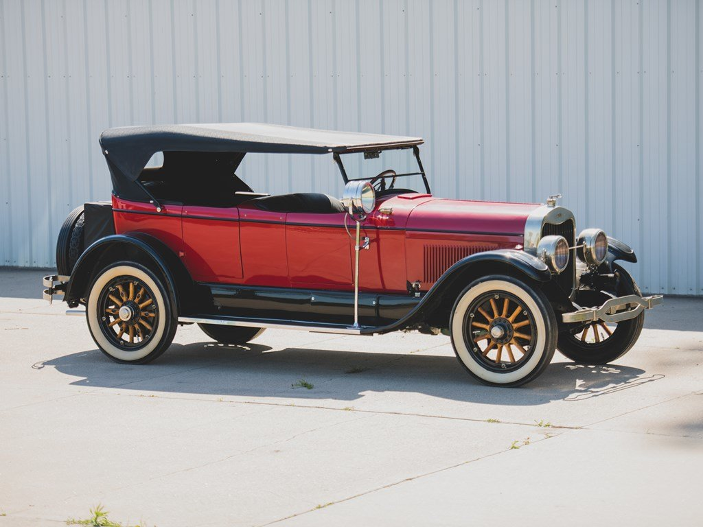 1924 Lincoln Model L Four-Passenger Phaeton  For Sale by Auction (picture 1 of 6)