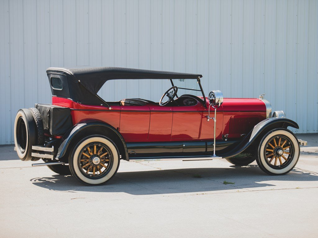 1924 Lincoln Model L Four-Passenger Phaeton  For Sale by Auction (picture 2 of 6)