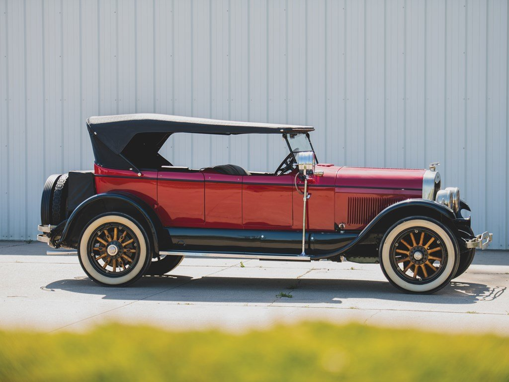 1924 Lincoln Model L Four-Passenger Phaeton  For Sale by Auction (picture 5 of 6)
