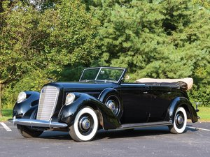 1937 Lincoln Model K Touring by Willoughby