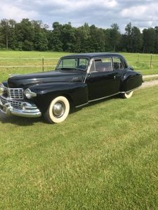 1948 Lincoln Continental Cabriolet (New Hartford, NY)