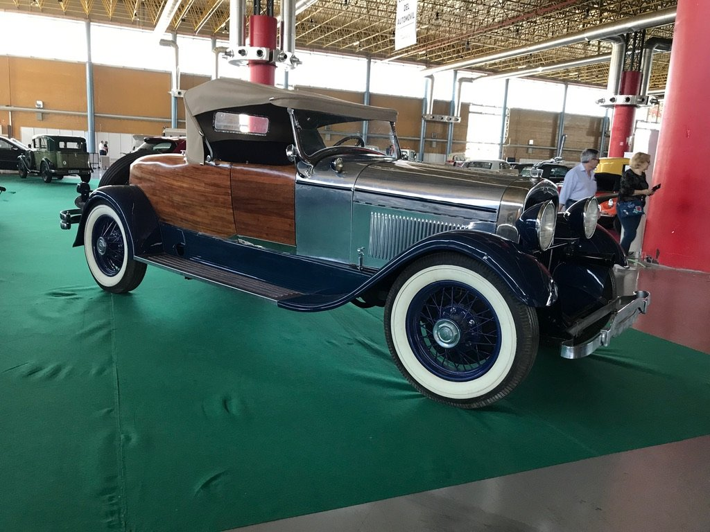 1930 Lincoln model l convertible roadter For Sale (picture 1 of 6)
