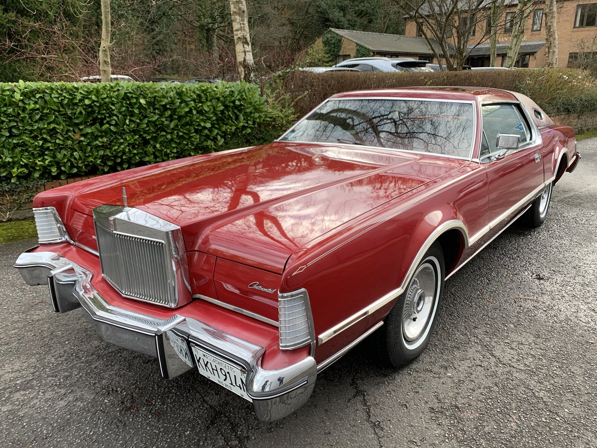 1975 LINCOLN CONTINENTAL  MKIV  VERSAILLES For Sale (picture 1 of 6)