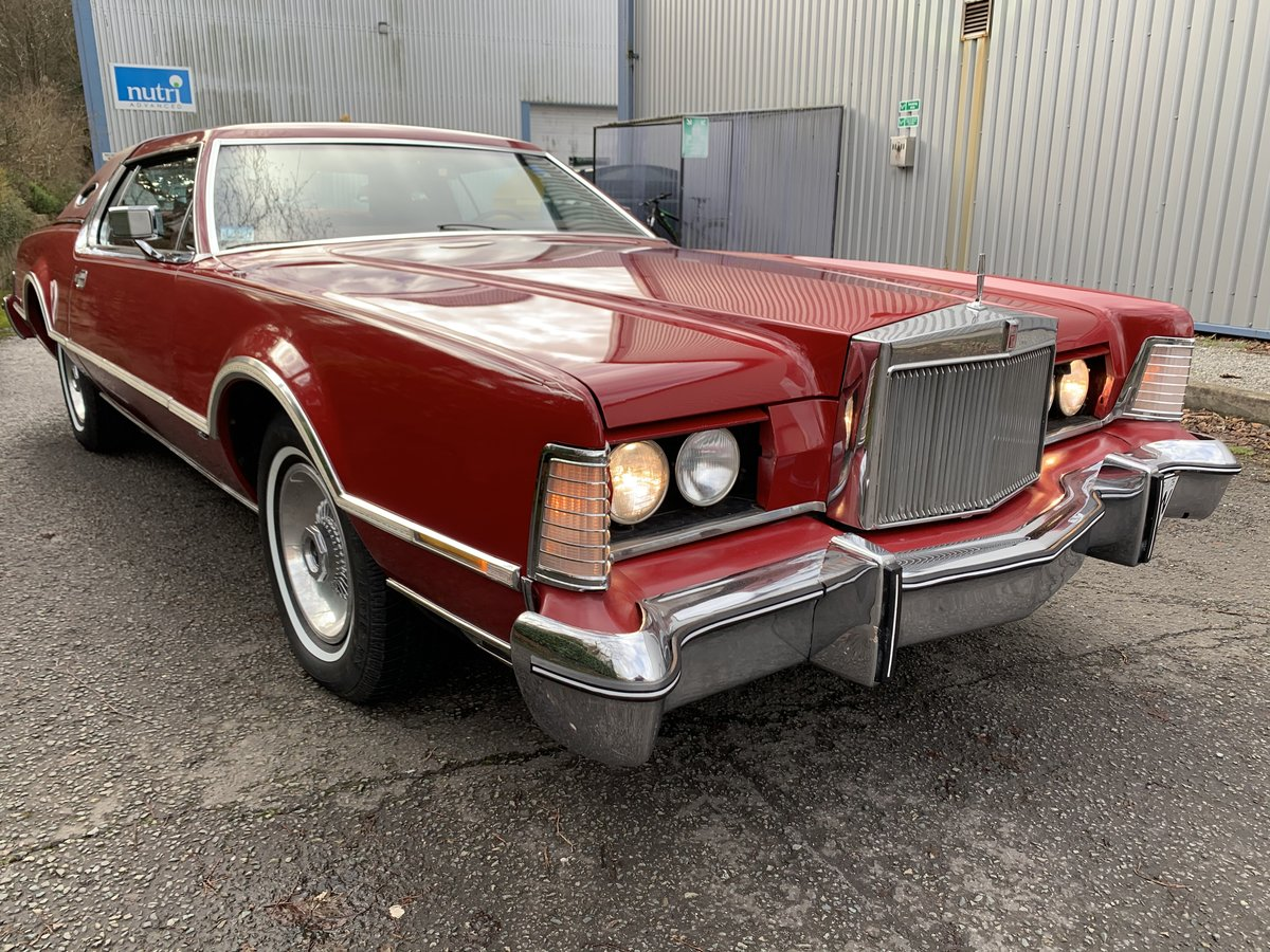 1975 LINCOLN CONTINENTAL  MKIV  VERSAILLES For Sale (picture 3 of 6)