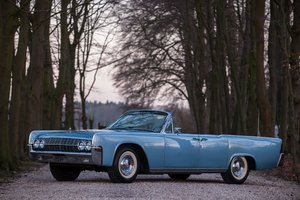 1962 Lincoln Continental Convertible No reserve For Sale by Auction