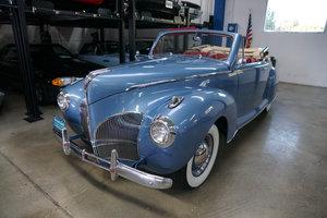 1941 Lincoln Zephyr V12 Convertible restored SOLD